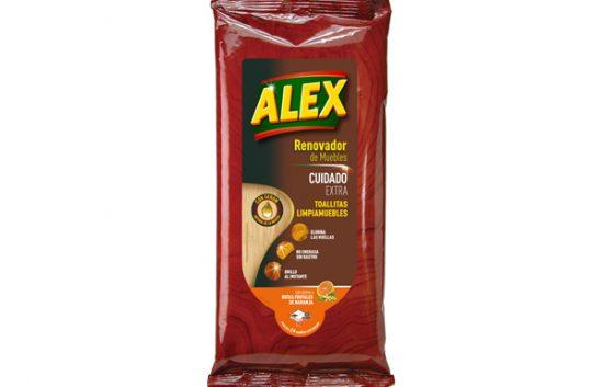 ALEX Toallitas limpiadoras Cuidado Extra para Madera