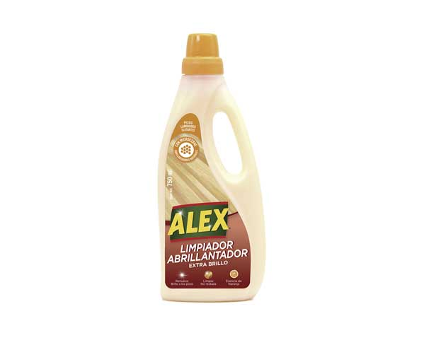 ALEX Limpiador Abrillantador Pisos Laminados