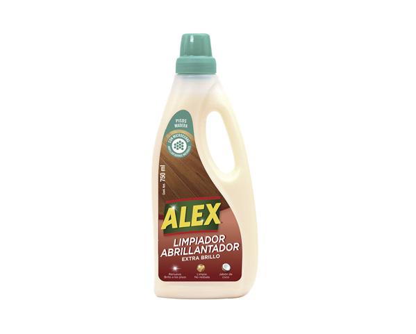 ALEX Limpiador Abrillantador para pisos de Madera
