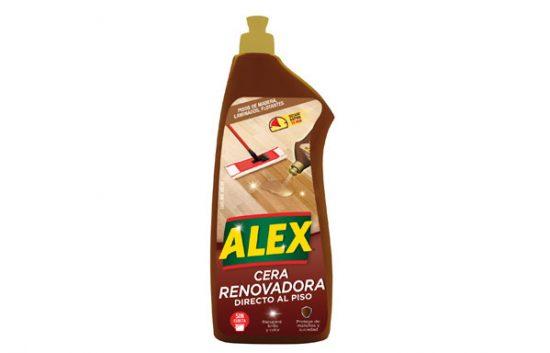 ALEX Cera Renovadora Directo al Piso Madera y Laminados