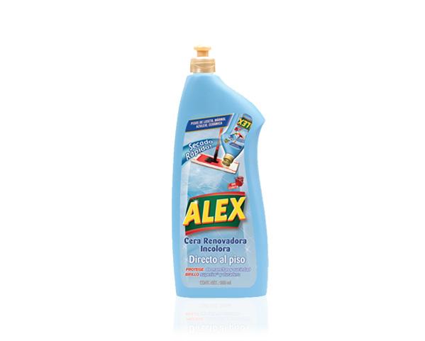 Alex cera renovadora inocolora directo al piso alex ama for Cera para pisos de marmol
